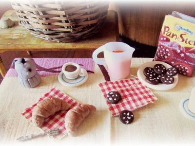 Italian Breakfast ▪ Miniature ▪ Polymer Clay Tutorial