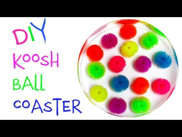 Koosh Ball Coaster DIY - Another Coaster Friday Craft Klatch