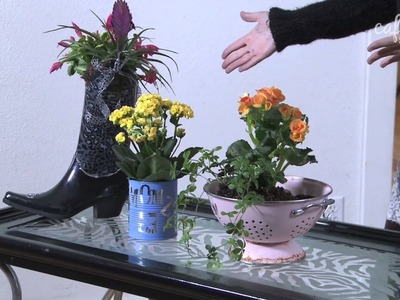 Make Flower Pots Out of Anything! - Make It Fabulous - Episode 7