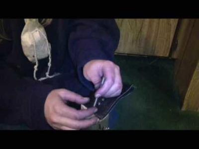 Making a Buckskin Pouch