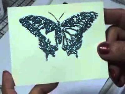 Martha Stewart Glitter Butterflies