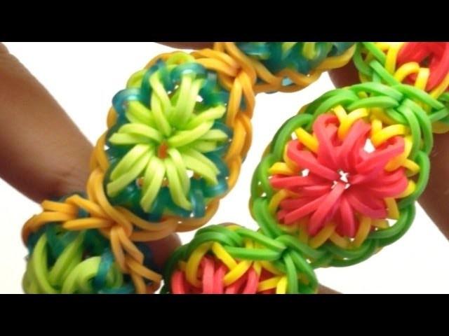 *NEW* Citrus Bracelet Tutorial on the Rainbow Loom