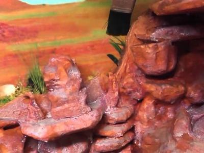 Part 4 (final) Grand canyon vivarium background
