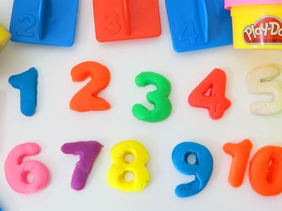 Play Doh Learn to Count with Play Dough Numbers, Letters n' Fun Educational Playset for Kids!