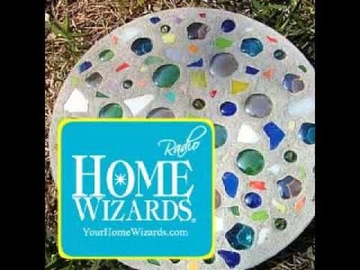 Project in a Day -- Homemade Stepping Stones
