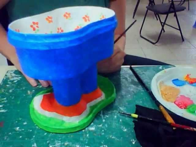 RecycoolArt - making a recycled cool bowl