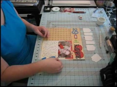 """Scrapbook Layout, 12""""x24"""": 29 Years of Love, Part Two"""