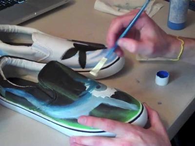 Speed Painting Pokémon Shoes