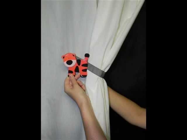 SwagMags(TM) Tutorial-How to use Magnetic Curtain Tiebacks-Drape Holdbacks-MADE IN THE USA!