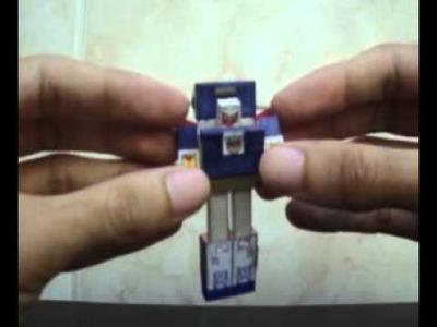 Tiny Autobot Car Tracks Season 1 made in paper