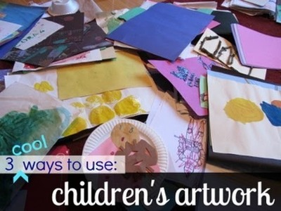 What to do with your child's artwork :: parenting :: teachmama.com