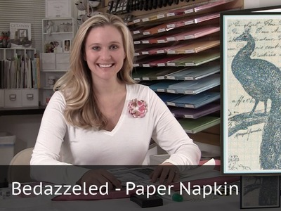 Bedazzeled Paper Napkin
