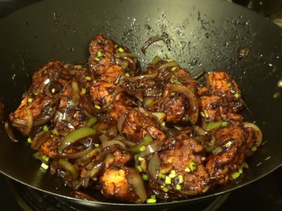 Chilli Chicken Dry - How to make Chilli Chiken by Home Kitchen