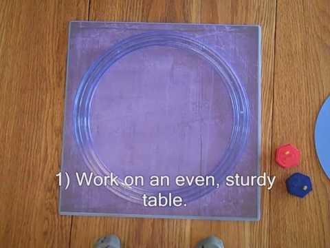 Creative Memories  #10 - How to make rings using the Jumbo Circle by Creative Memories