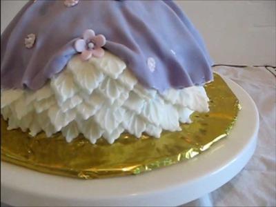 Decorating a Cake - Princess Doll Cake