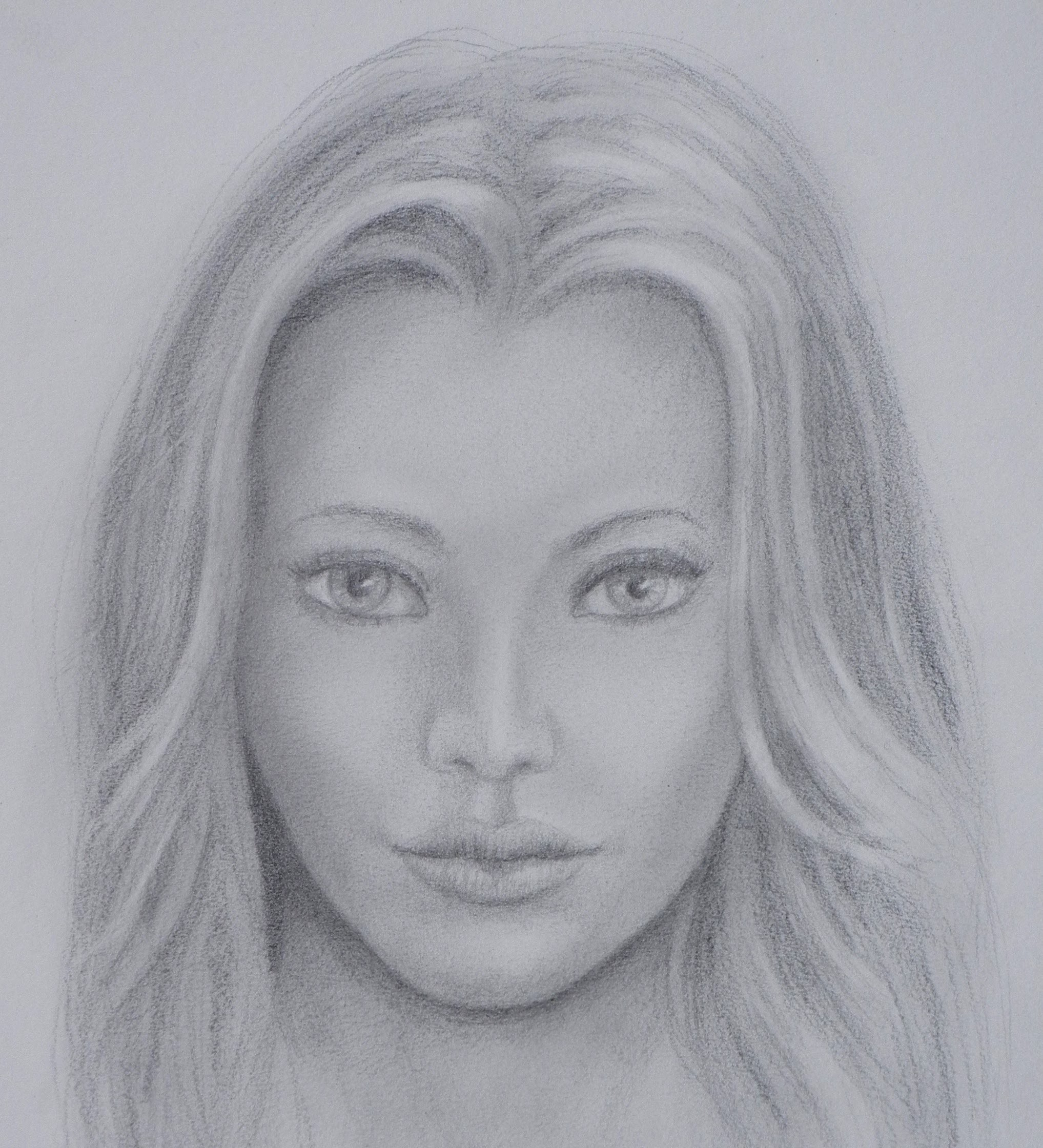 Drawing Lessons: How to Draw a Realistic Face - Fine Art-Tips