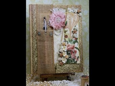 Embellished Journal with RSVP Pen Holder - Project Share
