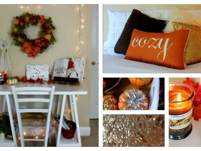 Fall Room Decor, Ideas and Inspiration