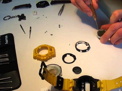 G Shock - How to make a custom display PART 1 Unboxing by TheDoktor210884