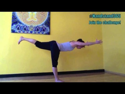 Handstand tutorial for the 365-day handstand challenge