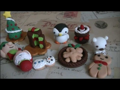 Holiday Polymer Clay Creations
