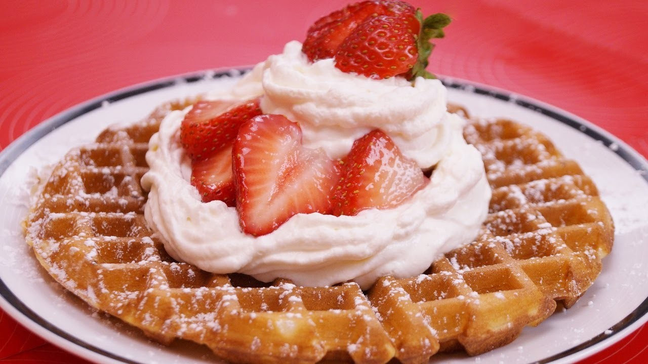 Homemade Waffles Recipe: From Scratch: How To Make Waffles:Diane Kometa-Dishin' With Di  #110