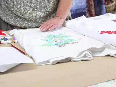 How to Create a Christmas Sweatshirt With Puff Paint : Holiday Crafts & Decorations