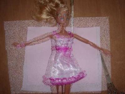 HOW TO MAKE a Barbie bathrobe : My Outfits 3