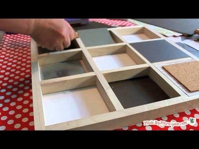 How to Make a Custom Memo Board