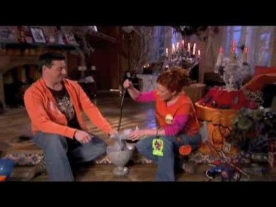How to make a Halloween Tree and Ornaments