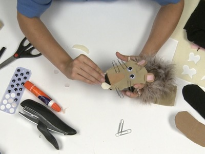 How to Make a Lion Sock Puppet