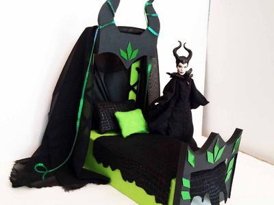 How to make a Maleficent Doll Bed Tutorial - Disney's Maleficent