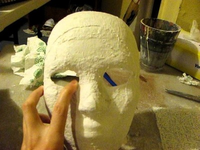 How to Make a Mask: Part 1 (Plaster Cloth Method)