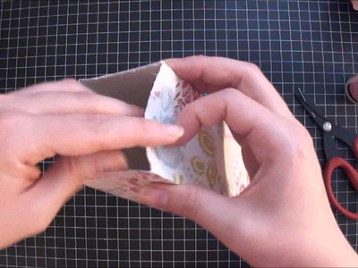 How to make a Milk Carton treat box and a Hershey Kiss treat box - Tutorial
