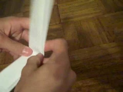 How to make a paper gun without tape