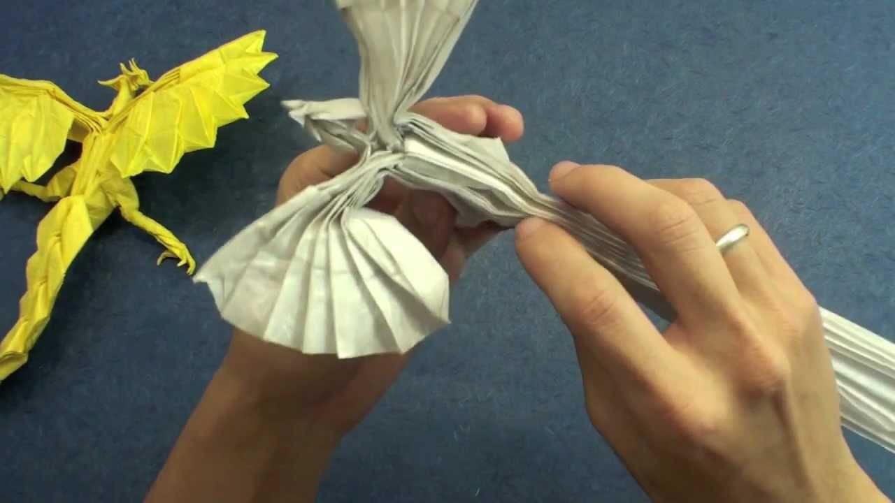 How to make an Origami Phoenix (Kamiya Satoshi phoenix 3.5)