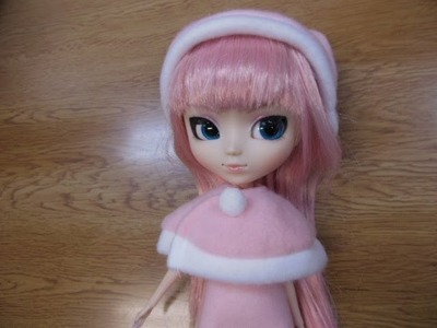 How to make doll outfit Christmas dress.★For your Pullip