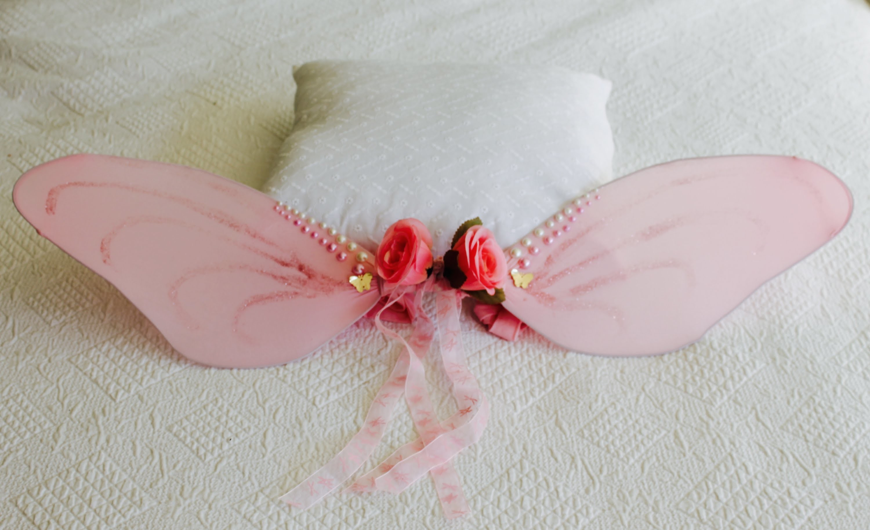 how to make homemade fairy wings