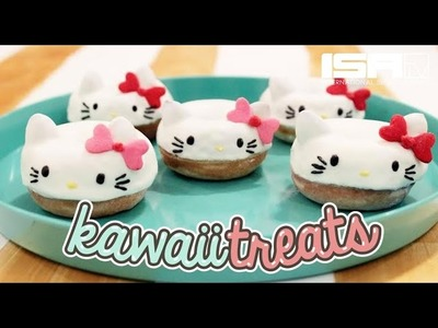How To Make Hello Kitty Donuts! - KAWAII TREATS Ep. 3