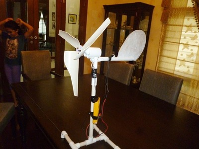 How To Make Mini Wind Turbine - Urdu