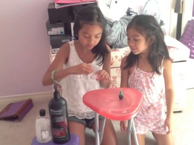 How to make slime without borax, glue or laundry detergent.
