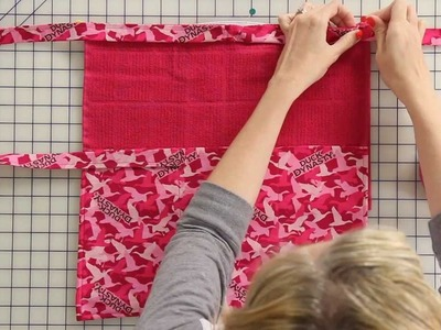 How to Sew a Duck Dynasty Apron - Fat Quarter Shop