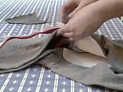 How to Sew shark costume teeth & fin