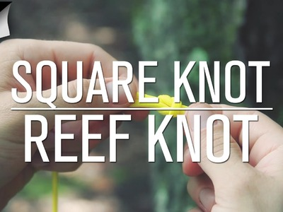 How to Tie a Square Knot.Reef Knot [Knot Tutorial]