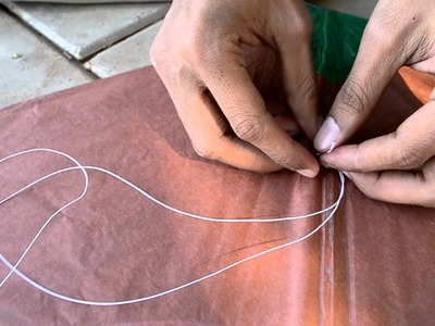 How to Tie Kite Knots  with Jagdish