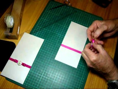 Invitation & Card Making - Ribbon with Buckle | www.mybigevent.com.au
