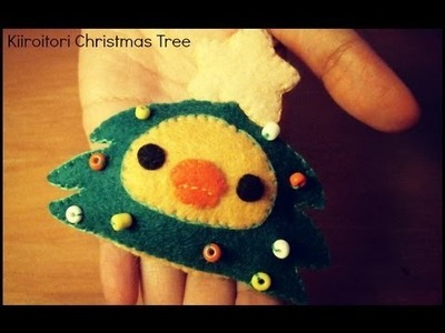Kiiroitori In A Christmas Tree Costume Plush Tutorial