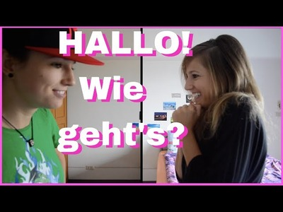 Learn German for Beginners - Lesson 1 - Basic Conversation (Parody)