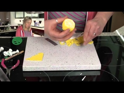 Lemon Cane - Polymer Clay Tutorial not FIMO - its Cernit!