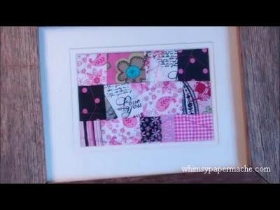 Make A Mini Scrap Quilt for a Handmade Gift
